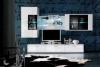 Мебель «CORANO», стеклянные полки